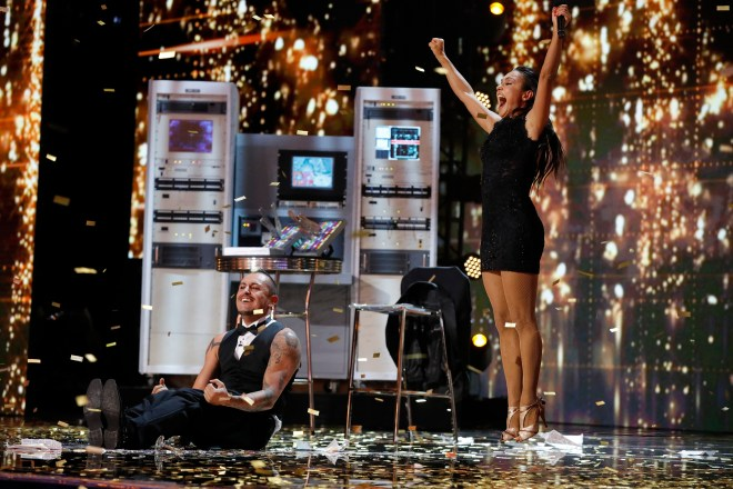 Deadly Games get Heidi's Golden Buzzer in America's Got Talent: The Champions