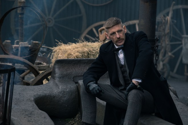 Peaky Blinders' Arthur Shelby attempted to kill Jimmy McCavern