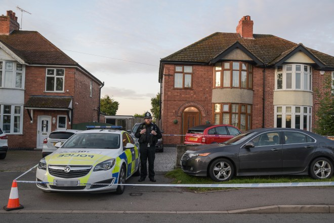 The bodies of a man, 32, and woman, 23, were found at the home