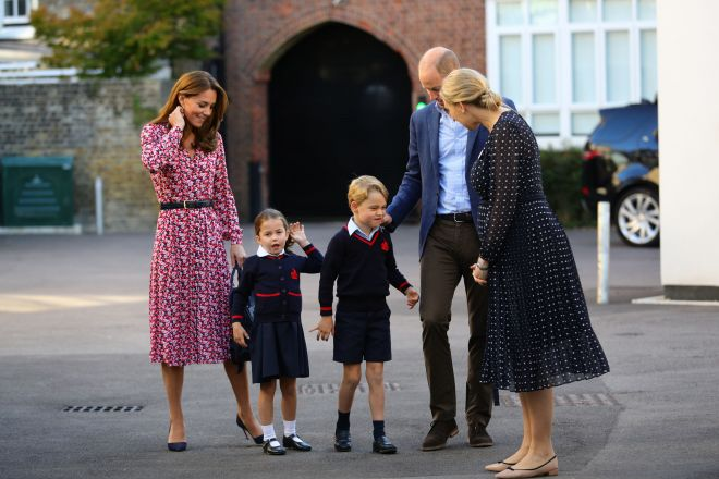 Princess Charlotte will start learning French at her new school