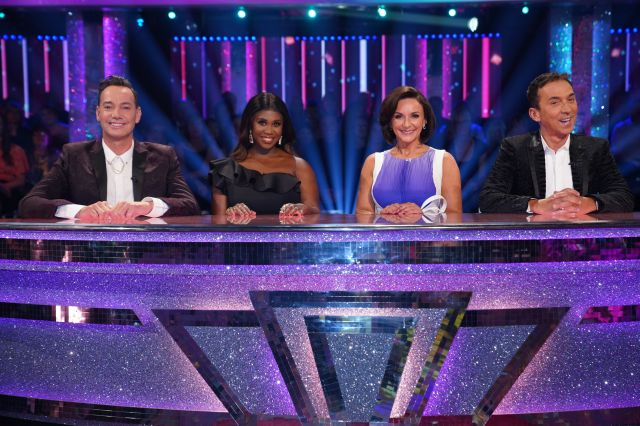 The 2019 Strictly judging panel with new addition Motsi Mabuse