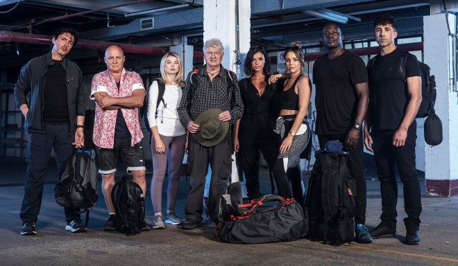 The stars of C4 show Celebrity Hunted 3 - Fugitive Specials