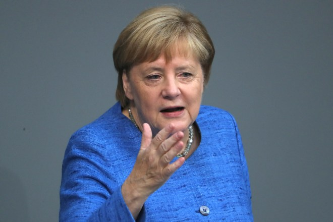 Angela Merkel insists there is 'every chance' an 11th hour Brexit deal can be reached
