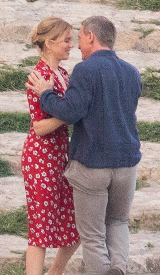 The tentative kiss was a far cry from the raunchy scenes seen in previous films