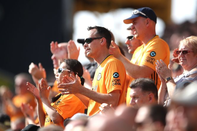 Like Aston Villa, Liverpool and Manchester United fans, Wolves will be making the trip down south to London as their side face Crystal Palace