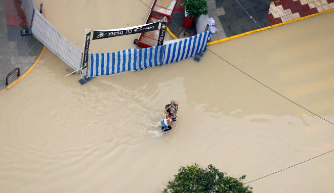 The flood waters have already claimed the lives of six people