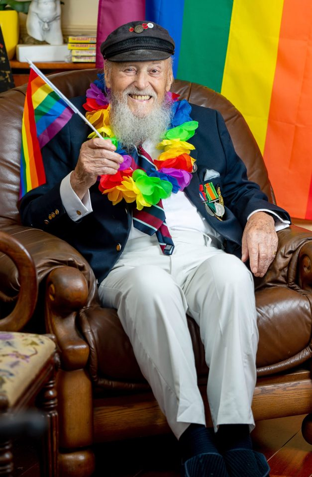 George Montague says he is finally living the life he wanted after hiding his sexuality for more than 60 years