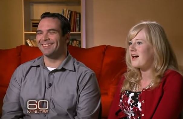 Mrs Barnett and her husband Michael Barnett appeared on 60 Minutes for a different story about their son
