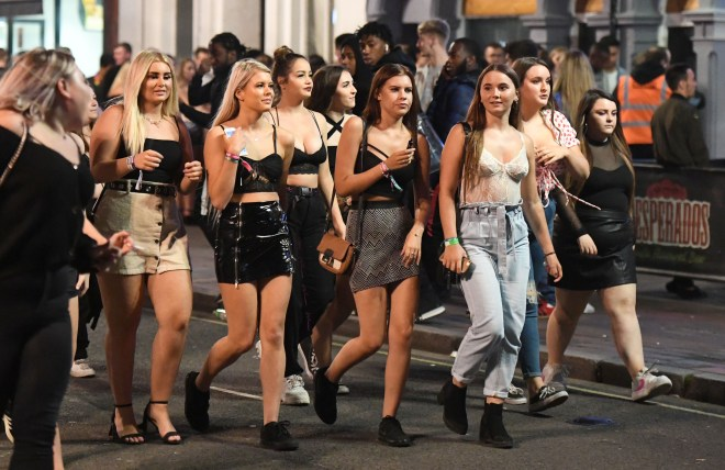 Thousands of teenagers enjoyed their first taste of freedom in six of the bars and clubs in and around Portsmouth Guildhall