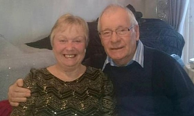 Mavis Eccleston was cleared of killing her husband Denis at Stafford Crown Court