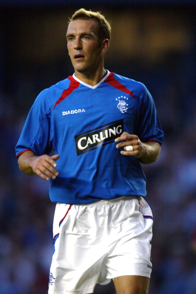 The Dutch ace was loved by fans at Ibrox