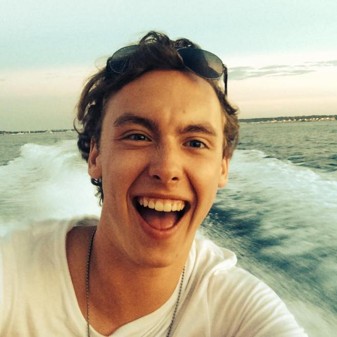 Oliver Wissenbach, 25, was spotted lifeless under the water by a maintenance worker