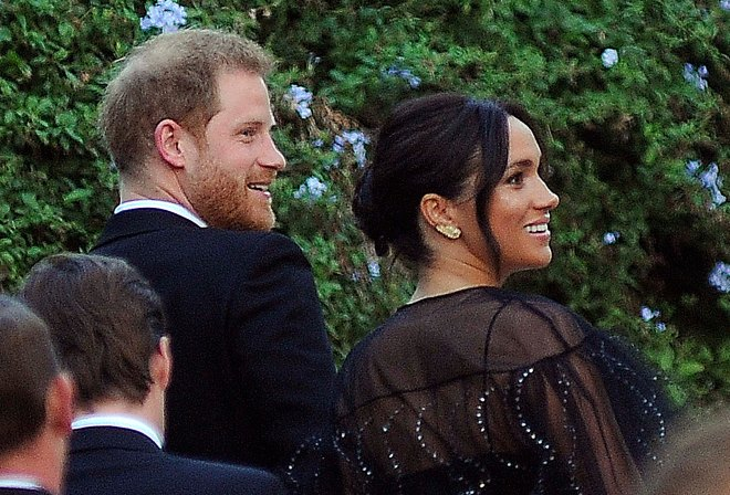 Meghan borrowed the £5 earrings from a friend who bought them from a West London market