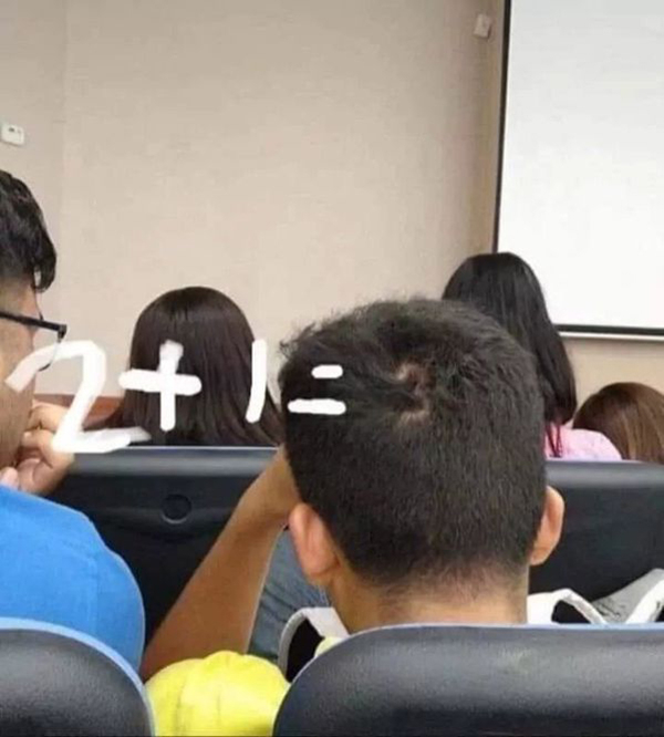 The sum equals this students IQ