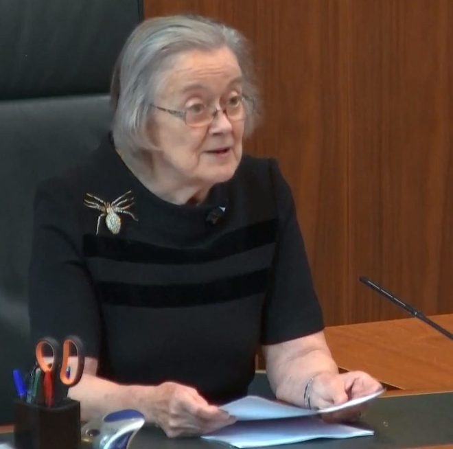 Lady Hale said prorogation prevented the ability of Parliament to carry out its constitutional functions
