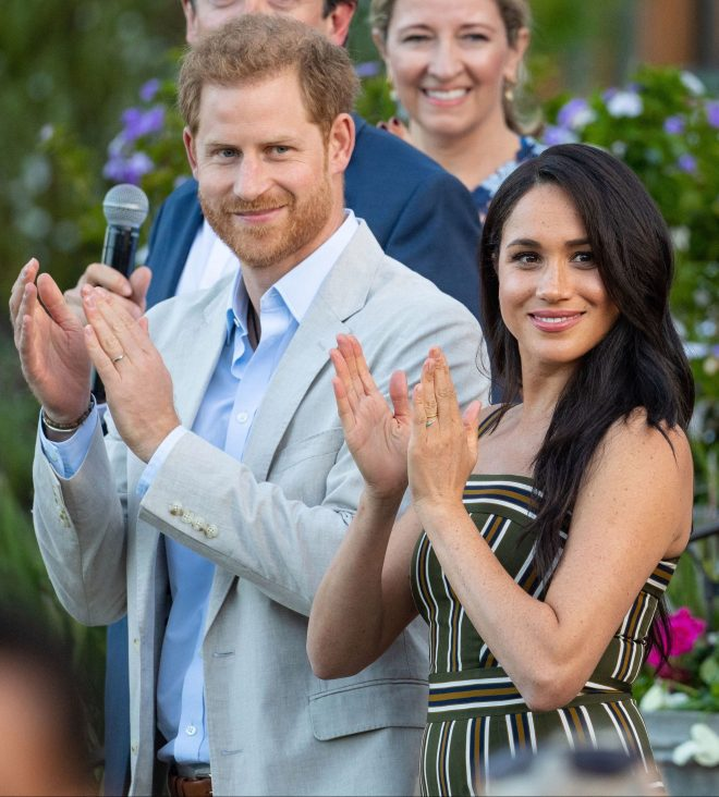 Prince Harry and Meghan Markle are currently on a royal tour of South Africa