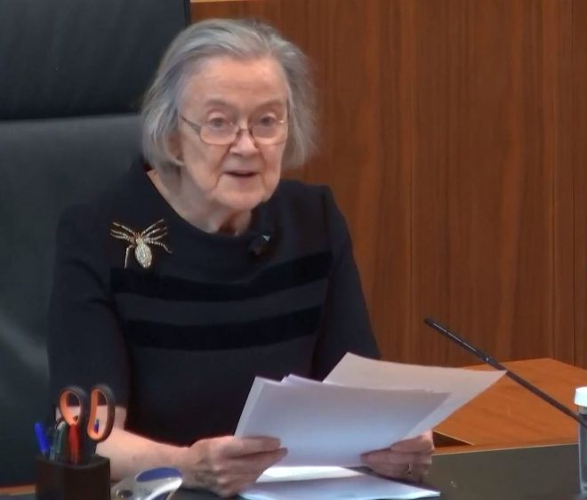 Lady Hale, head of the Supreme Court, has long been seen as a quintessential liberal blue-stocking