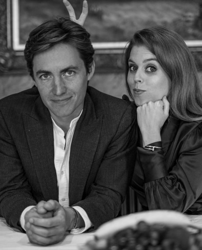 Princess Beatrice announced she would tie the knot with Edo in 2020