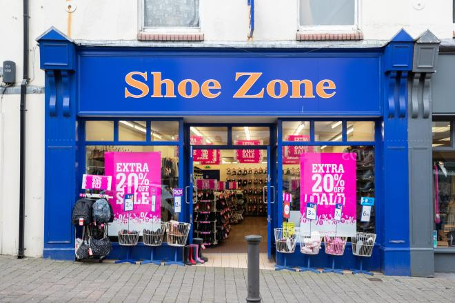 Shoe Zone compiled its footsie index after analysing sales data at 500 stores across Britain