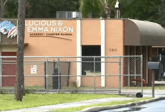 Cops were called to the Lucious and Emma Nixon Elementary school in Orlando