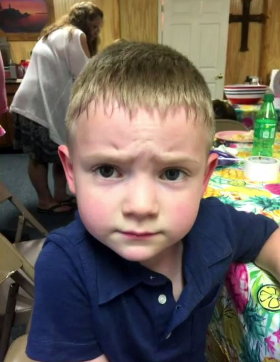 Five-year-old Nathan, who has autism, was reported to child services for hugging and kissing a classmate