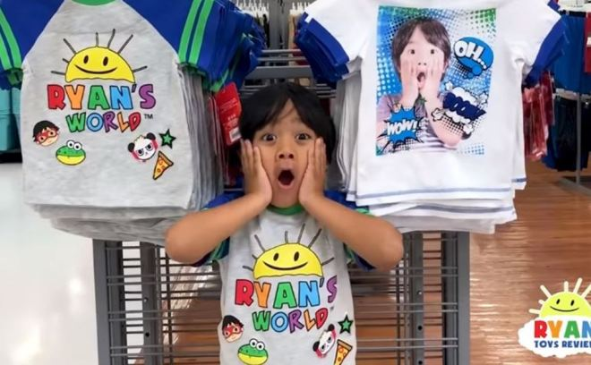 The Ryan ToysReview YouTube channel is being probed over its adverts
