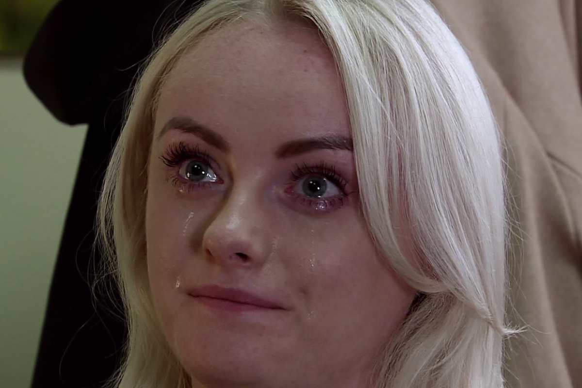 Coronation Street viewers in tears as Sinead Tinker is told she has just four months to live as the cancer returns