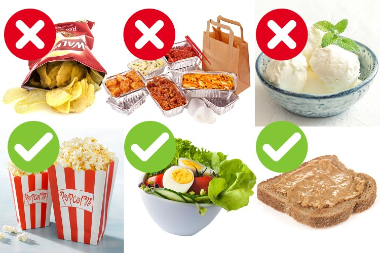 Want fast weight loss? The late night snacks you should and ...