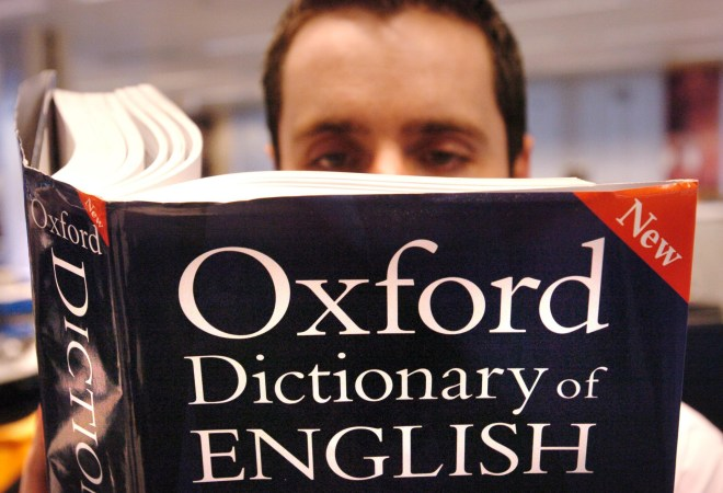 Oxford English Dictionary accused of dumbing down after including slang words such as 'sumfin' and 'whatevs'