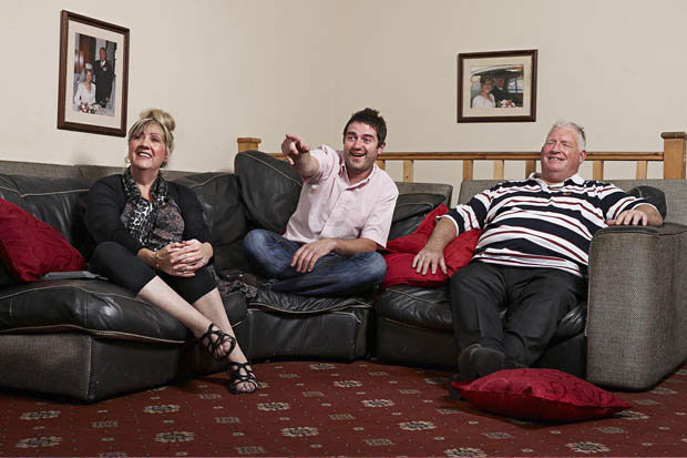 Gilbey's parents Linda and Peter are due to star on Gogglebox without their son