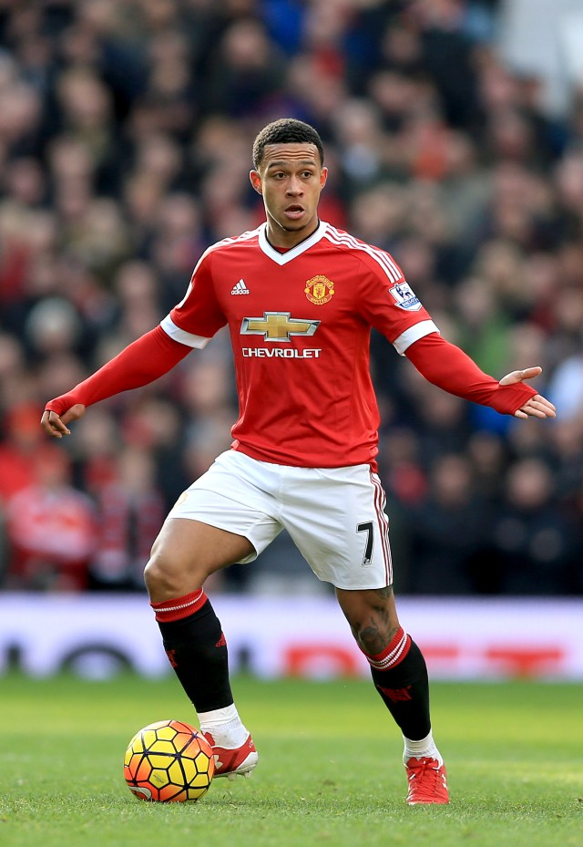 Depay inherited the hallowed No7 shirt but failed to do it justice
