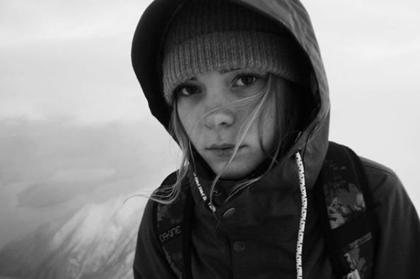 Ellie was described as one of the best young snowboarders in the UK