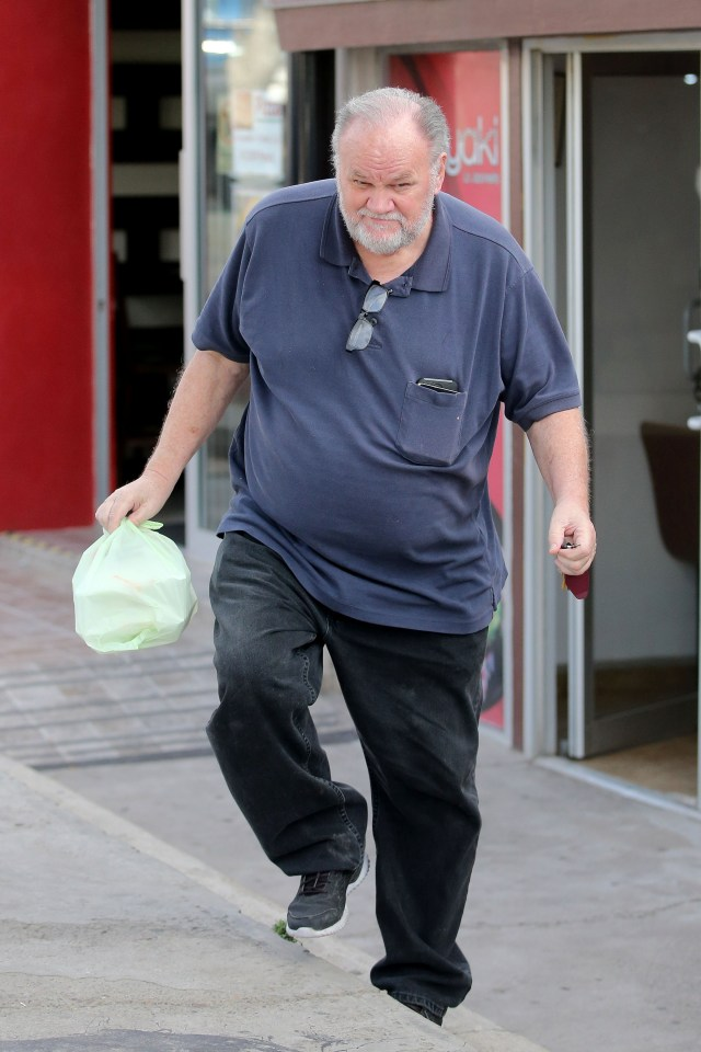 Thomas Markle released parts of a personal letter his daughter wrote to him