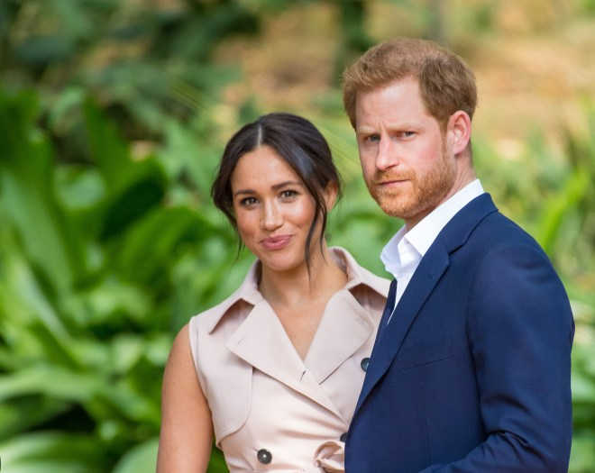 Prince Harry and Meghan Markle could face Mr Markle in a UK court room