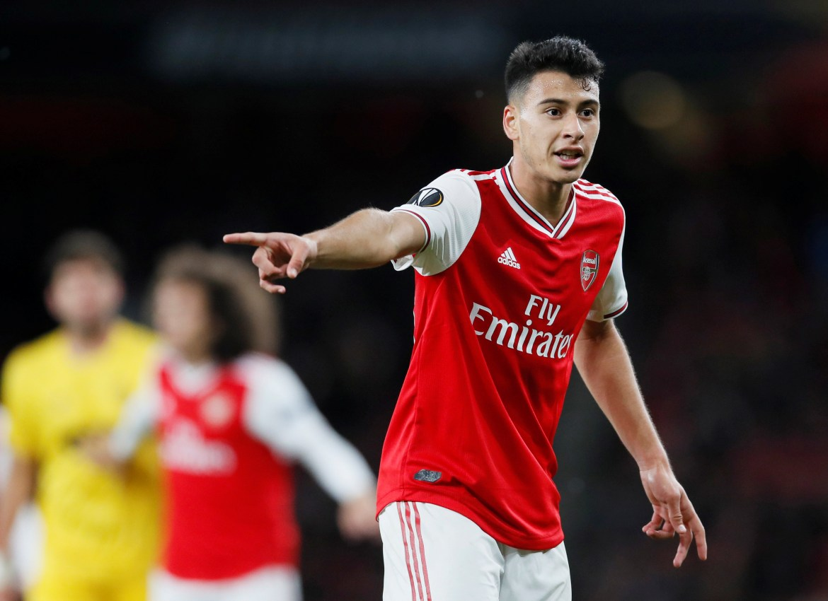 Image result for Arsenal whizkid Gabriel Martinelli chooses Brazil over Italy