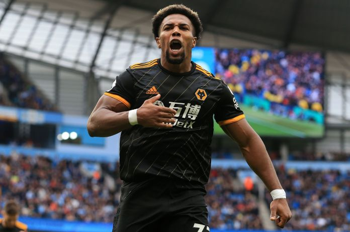Adama Traore was at the double as Wolves shocked Manchester City 2-0