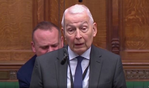 Frank Field showed the images in the Commons