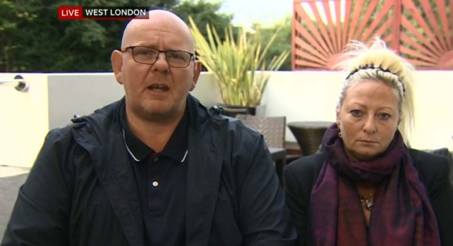 Mother Charlotte Charles and dad Tim Dunn said they wanted justice for their son