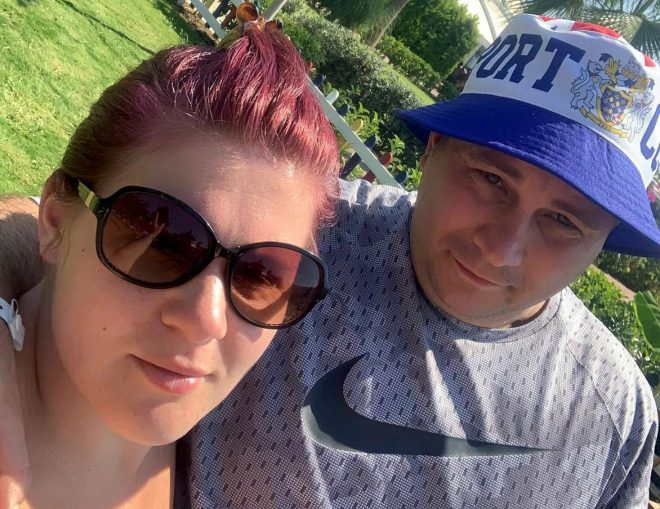 Michael and Rebecca Williams checked their CCTV footage after noticing beer missing