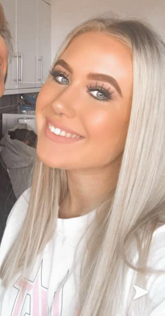 Kyra Strachan was left terrified after she was attacked in a nightclub in Scotland