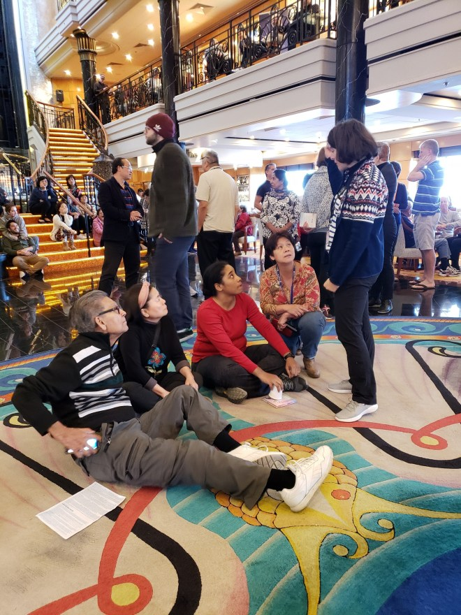 Holidaymakers from across the world have been stuck on the ship