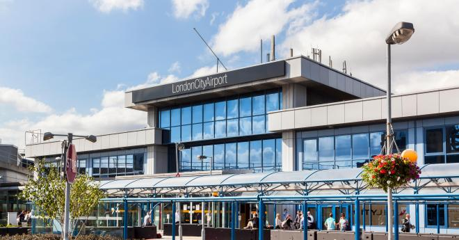 London City Airport say they are in talks with police, and that anyone intending to fly can check for information with their airlines