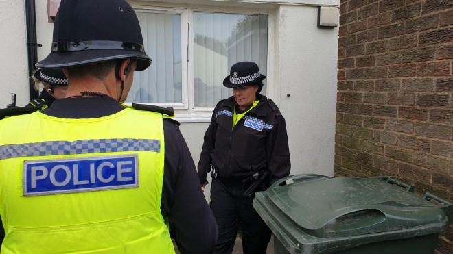Bins have been set on fire as kids terrorise the neighbourhood