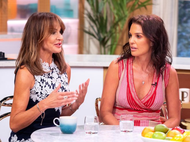 Lizzie Cundy and Danielle Lloyd spoke about the drama today