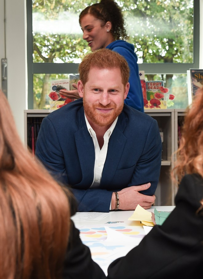 The 35-year-old royal has been raising awareness for mental health
