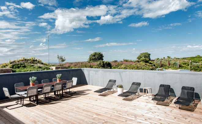One of its standout features is a huge roof terrace