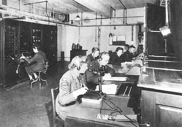 The frontline station in WW2