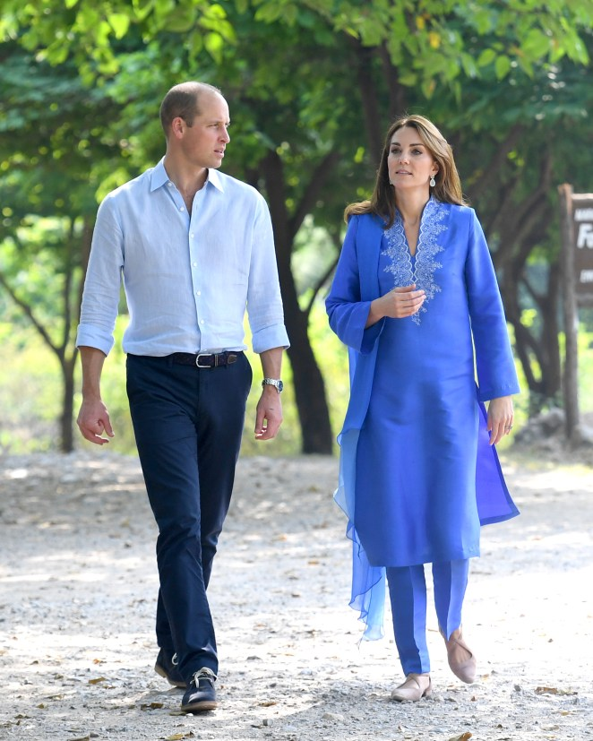 Prince William and Kate Middleton's hard work during their trip to Pakistan may have been undermined by the current royal rift