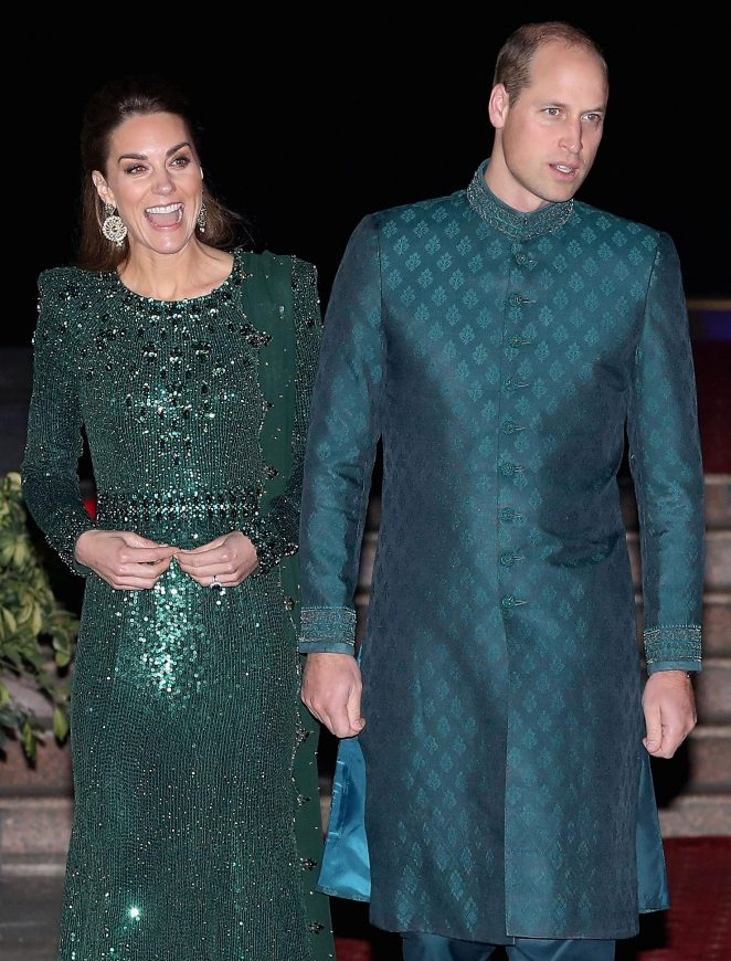 But the Sussexes have been accused of trying to 'sabotage' Kate and William's tour of Pakistan