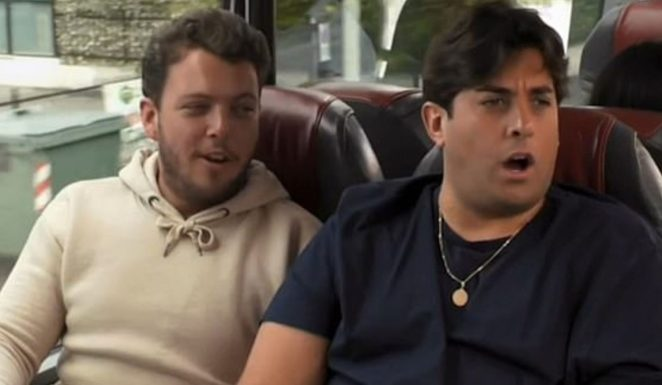 Arg is currently appearing on E4's Celebrity Coach Trip with Towie pal James 'Diags' Bennewith